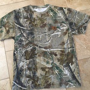 Carhartt Camouflage Pullover Tee Shirt - NWOT!